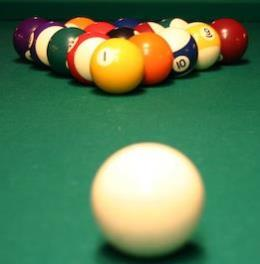 Rec Room billiard balls